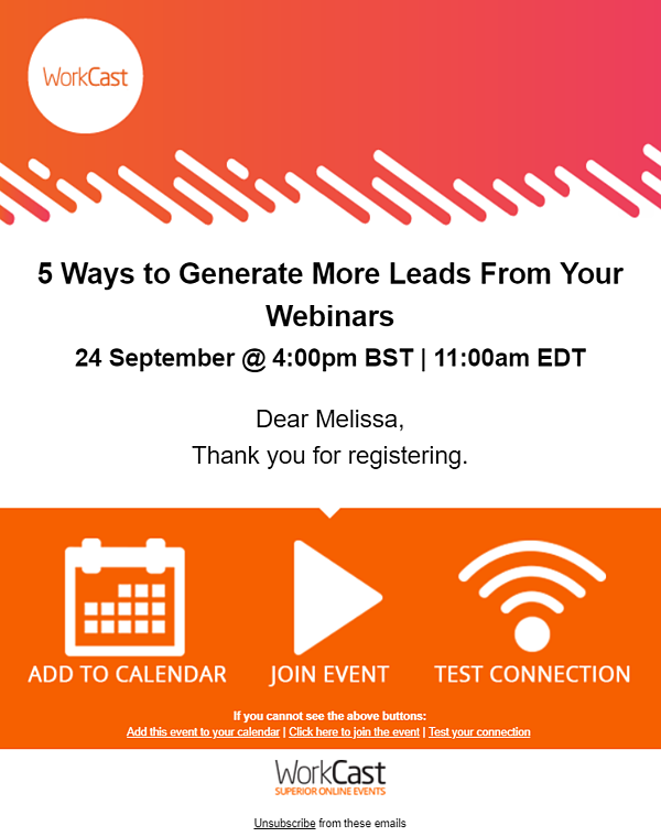 5 ways to generate more leads email