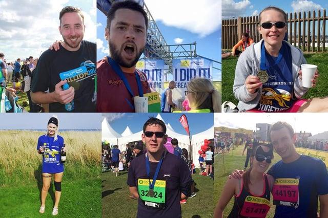 WorkCast Marathon Runners