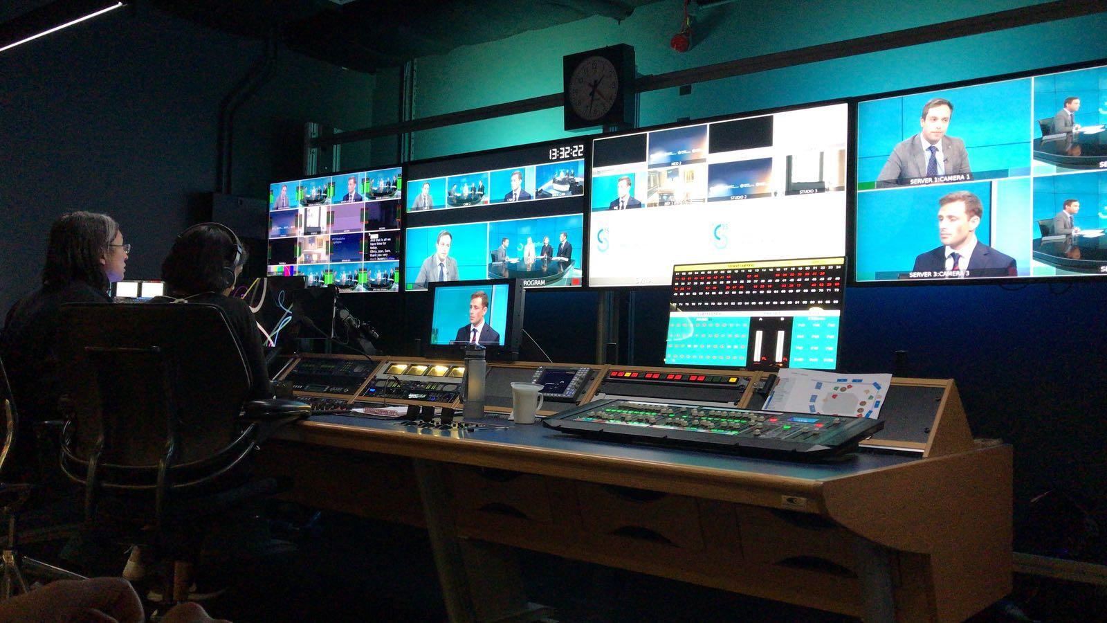monitored webcast